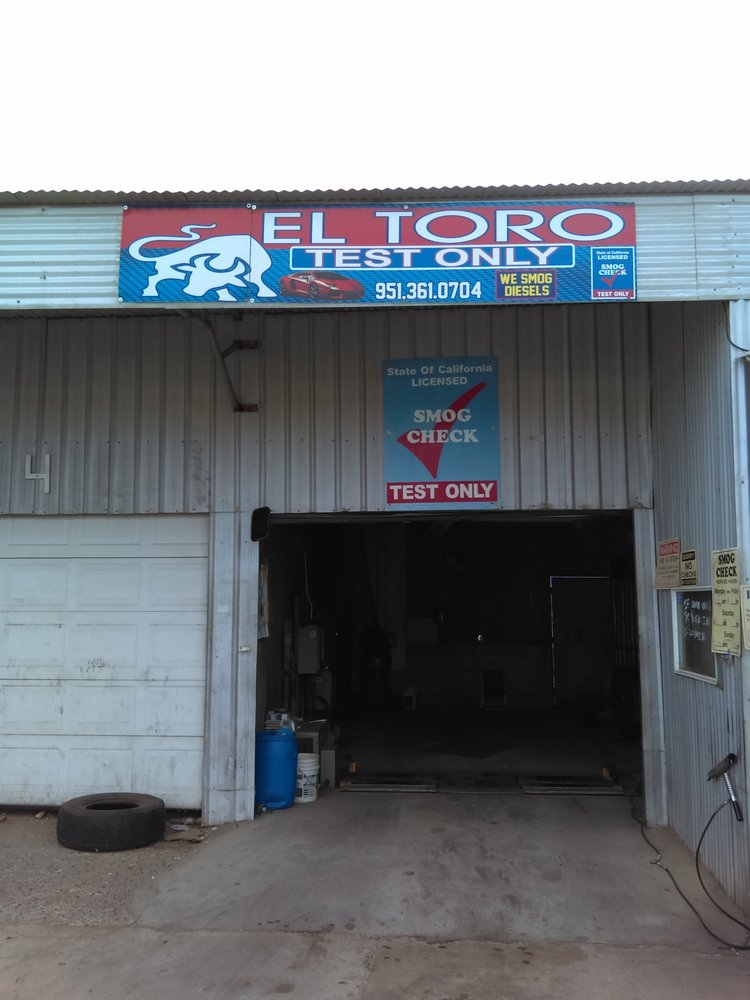Smog Check Mira Loma STAR Certified El Toro Test Only